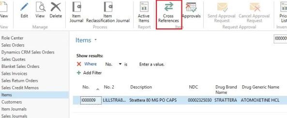 cross reference no item microsoft dynamics nav community